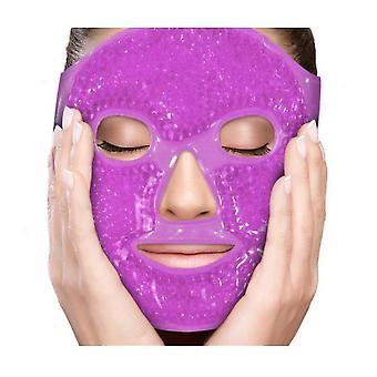 Gel kralen gezichtsmasker spa therapie druk gezicht wallen hoofdpijn