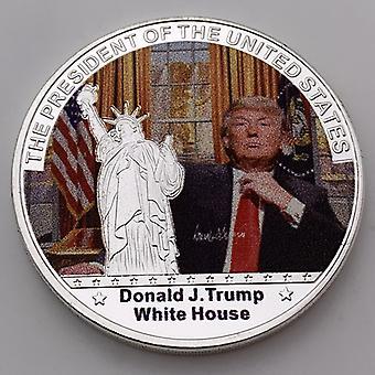 Yhdysvaltain vapaudenpatsas Trump hahmo muistokoli Hatton Trump kokoelma kultakolikot