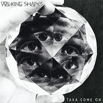 Walking Shapes - Taka Come on [CD] USA import