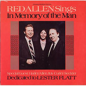 Red Allen - In Memory of the Man: Dedicated to Lester Flatt [CD] USA import