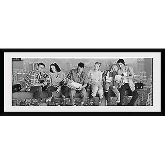 Friends Girder Framed Collector Print