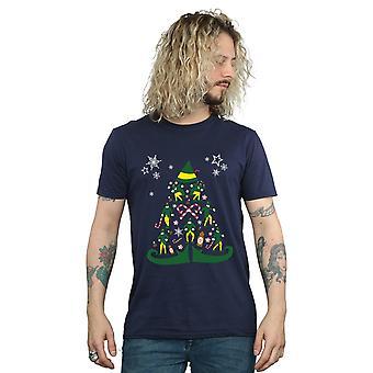 Elf Men's Christmas Tree T-Shirt
