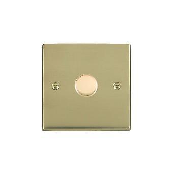 Hamilton Litestat Cheriton Victorian Polished Brass 1g 300VA 2 Way Dimmer PB