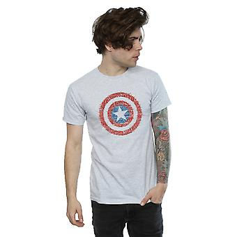 Marvel Men's Captain America 75th Super Soldier T-Shirt