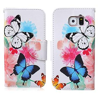Sleeve wallet pattern of 64 for Samsung Galaxy S6 G920 G920F