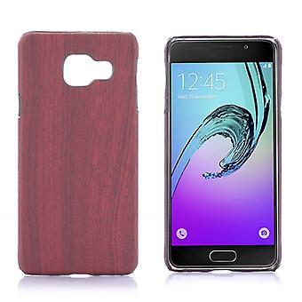 Hardcase legno scuro maniche cercare di Samsung Galaxy A3 2016 A310F