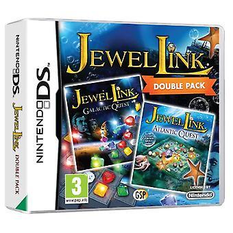 Jewel link Double Pack-Atlantic Quest en Galactic Quest (Nintendo DS)-nieuw