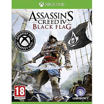 Assassins Creed 4 Black Flag Greatest Hits jednej gry Xbox