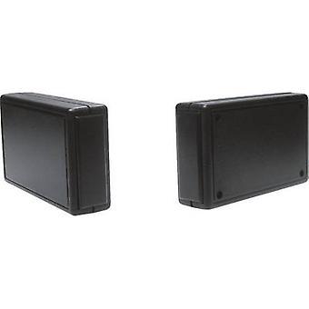 Strapubox 2834 SW Universal kabinett 100 x 60 x 25 akrylonitril butadien styren svart 1 eller flere PCer