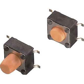 W-rth Elektronik WS-TSS 430152070836 Pulsador 12 V DC 0.05 A 1 x Apagado/(Encendido) momentáneo 1 ud(s)