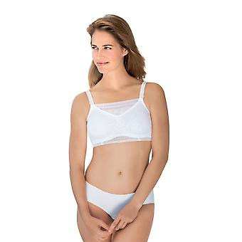 Anita 0600-006 Care White Solid Colour Lace Strapless Crop Top