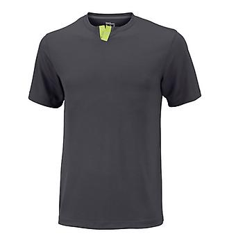 Wilson summer Henley T-Shirt men's anthracite WRA745803