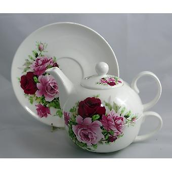 English Bone China Tea for One Summertime