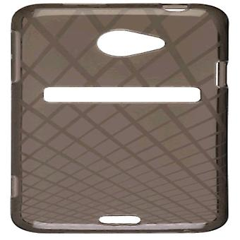 Ventev Waffle Dura-Gel Case for HTC EVO 4G LTE (Smoke) - 379669