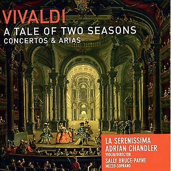 A. Vivaldi - Vivaldi: A Tale of Two Seasons - Concertos & Arias [CD] USA import