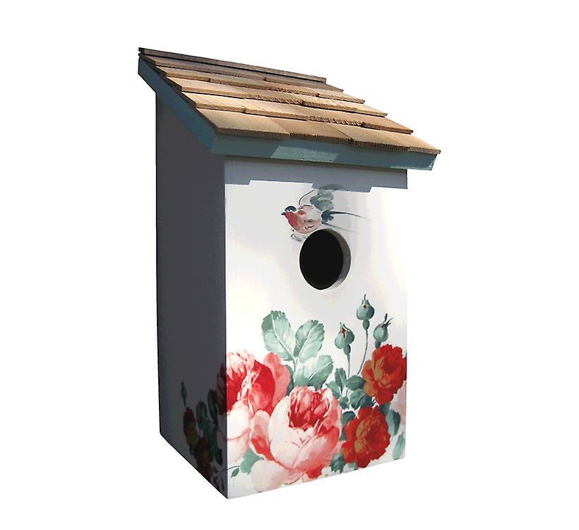 Pivoine Saltbox Bird House