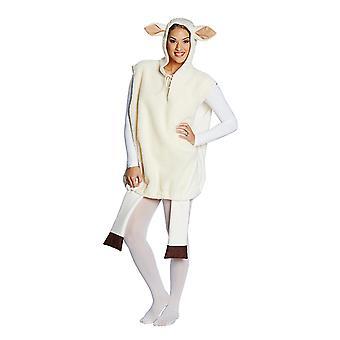 White sheep animal costume sheep costume unisex tunic costume
