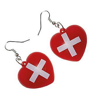Krankenschwester Ohrringe Accessoire Schweiz Karneval Fasching