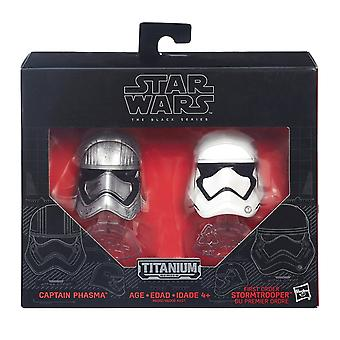 B6002 van de Star Wars The Force ontwaakt Black serie sterven Cast Phasma & Stormtrooper