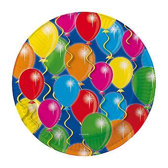 Borden Ballonnen, 8st.