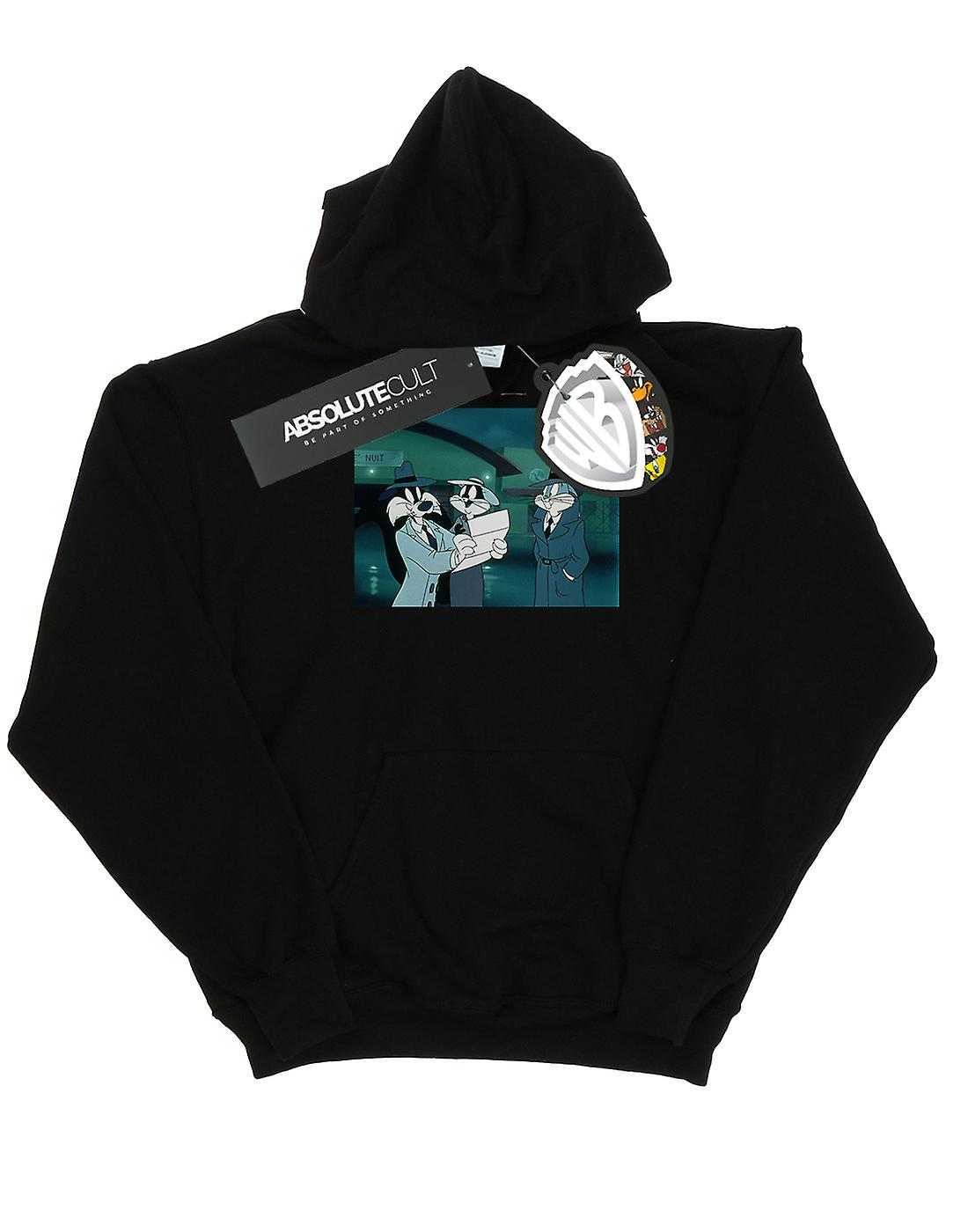 Looney Tunes Boys Bugs Bunny Sylvester Letter Hoodie