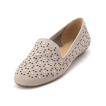 Vaneli Womens Sala Suede Closed Toe Loafers
