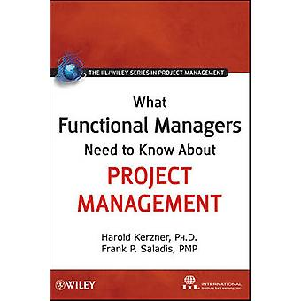 What Functional Managers Need to Know About Project Management by Int