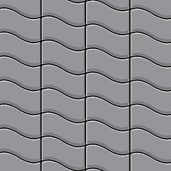 Metalowa mozaika ze stali nierdzewnej Alloy Flux-S-S-MA