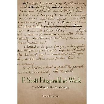 F el. Scott Fitzgerald en el trabajo - hacer - el gran Gatsby - por Hors