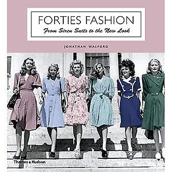 Años 40 moda: desde trajes de sirena para la nueva imagen