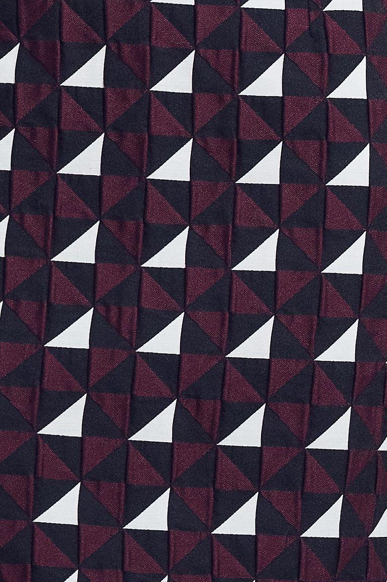 Geometric print girl dress