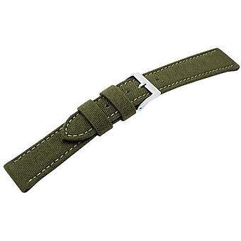 Morellato black leather strap 18 mm 2 man CORDURA/A01U2779110072CR18