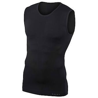 Falke Tight Fit Singlet Vest - Black