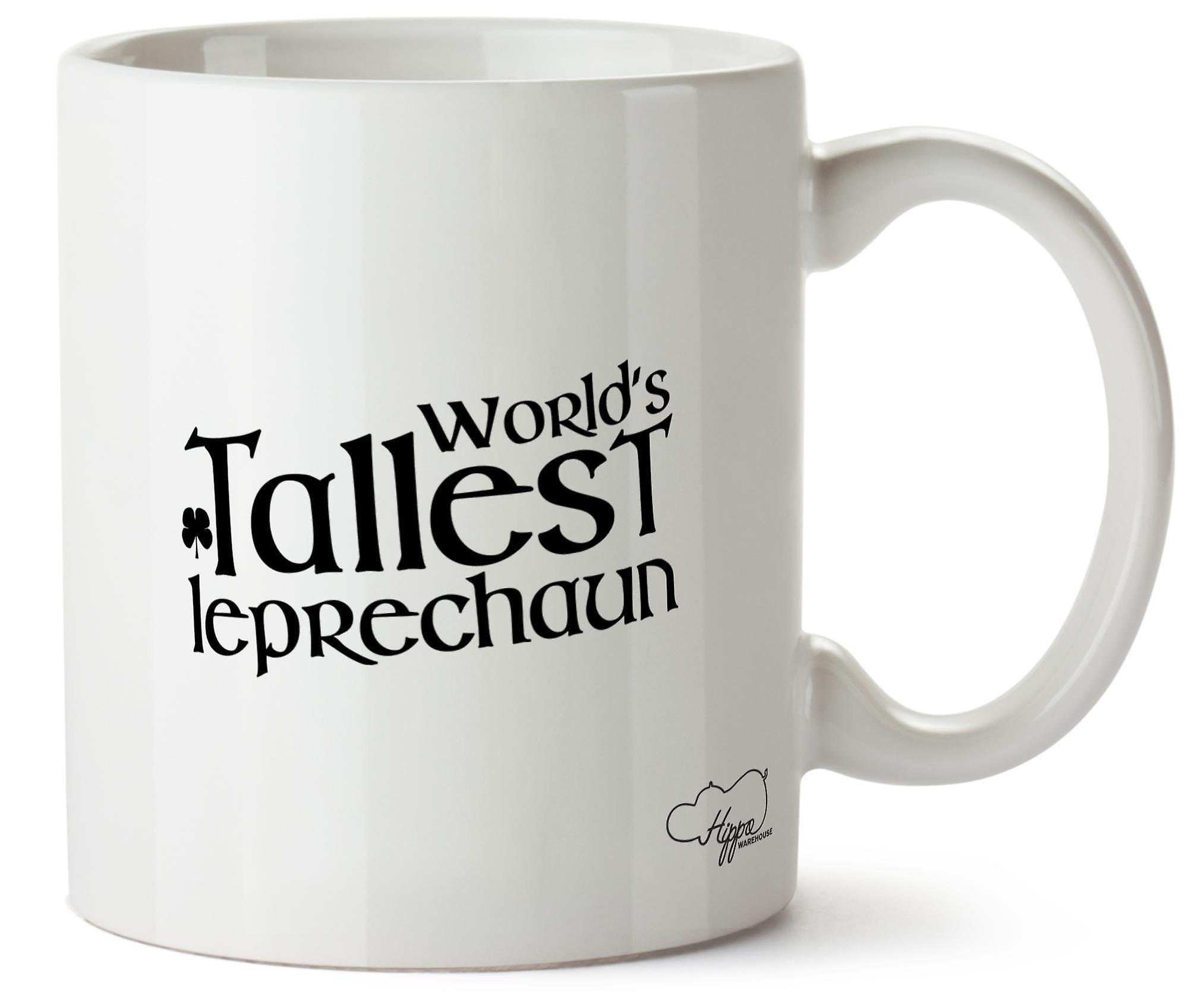 Hippowarehouse мир высоких Лепрекон напечатаны Кубка керамическая кружка 10oz