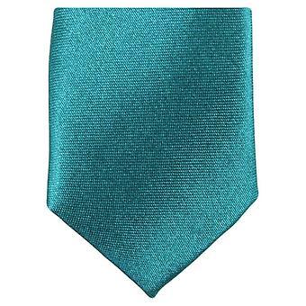Knightsbridge Neckwear Skinny Polyester Tie - Teal