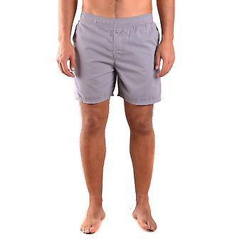 Stone Island Ezbc024072 Men-apos;s Grey Nylon Trunks