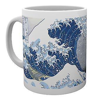 Hokusai Großwelle Mug