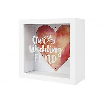 Splosh Gifts Our Wedding Fund Savings Box