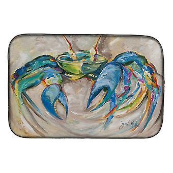 Carolines Treasures  JMK1089DDM Blue Crab Dish Drying Mat