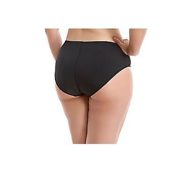 Elomi Essentials Es7524 Mid Rise Bikini Brief Black (blk) Cs