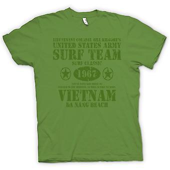 Womens T-shirt-Apokalypse jetzt Kilgores Team Surfen