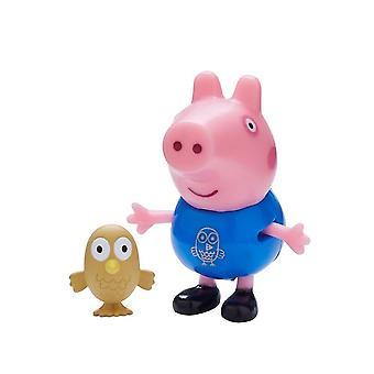 Peppa Pig Pals & Pets (Goerge Pig & Owl ) Toy Set
