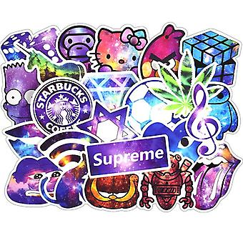 Stickers, 100 pack-Galaxy #2
