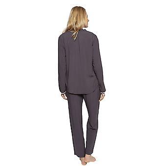 Cyberjammies 1331 kvinnor ' s Nora Rose Nancy Grey modal Pyjamas Set