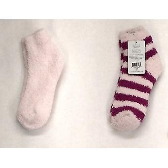 Colorado Clothing Plush Striped Pink Socks Womens A402522