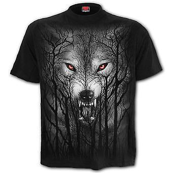 Spiral Forest Wolf T-Shirt