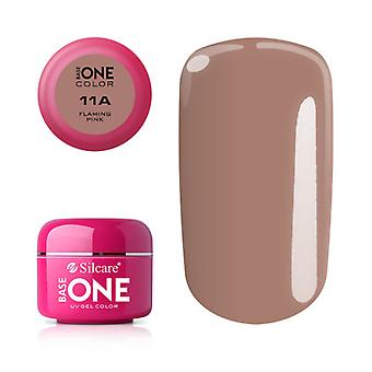 Base one-Color-Flaming pink 5g UV gel