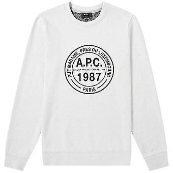 A.p.c A.P.C الفيس طاقم شعار البلوزة