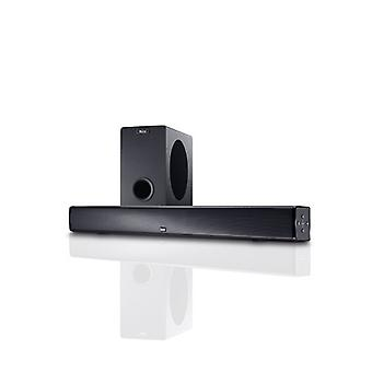 MAGNAT SBW 250, attivo completo home theatre sound bar con subwoofer wireless, nuovi beni