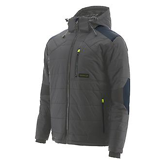 CAT Workwear Mens Boreas Quilted Insulated Work Jacket